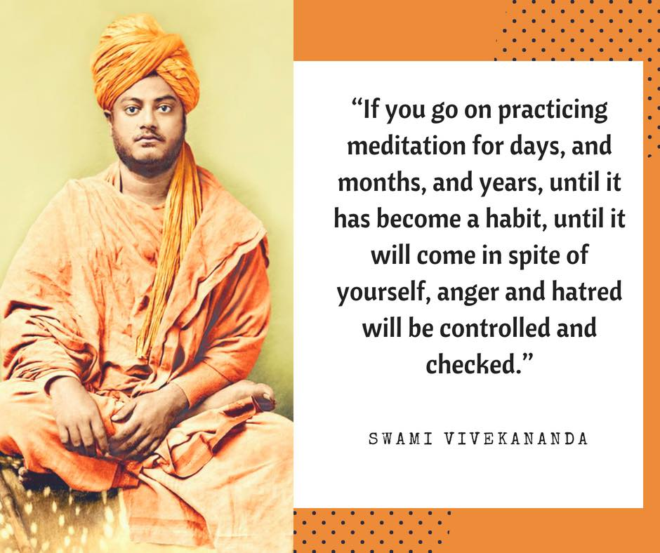 Swami Vivekananda quotes on Meditation