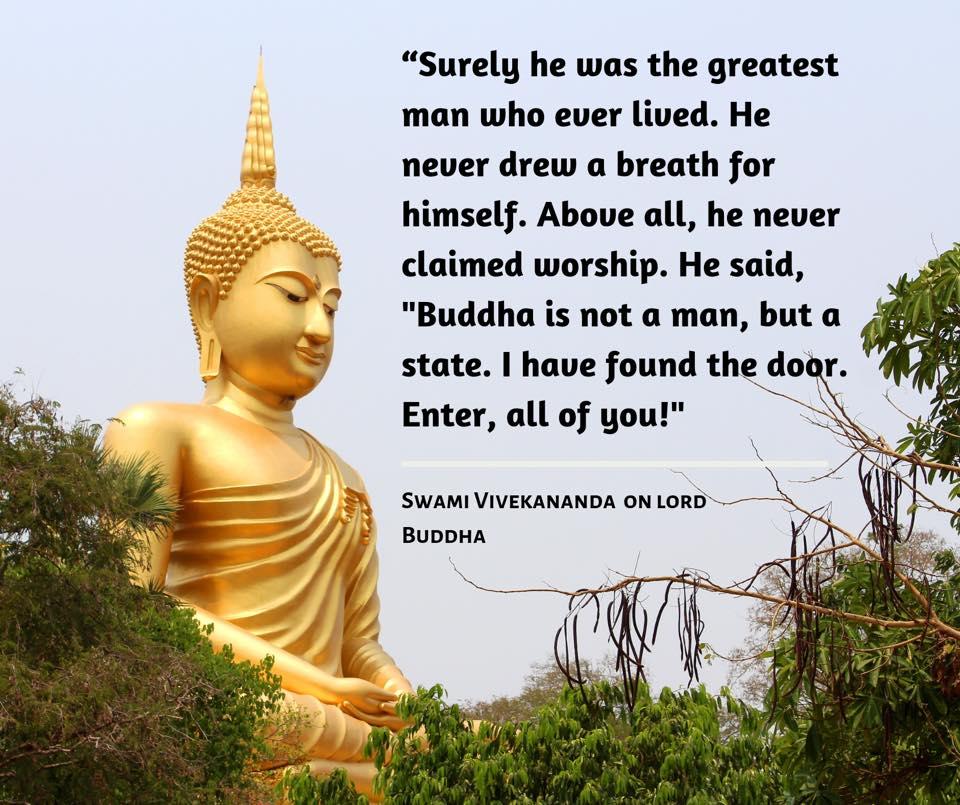Swami Vivekananda On Gautama Buddha