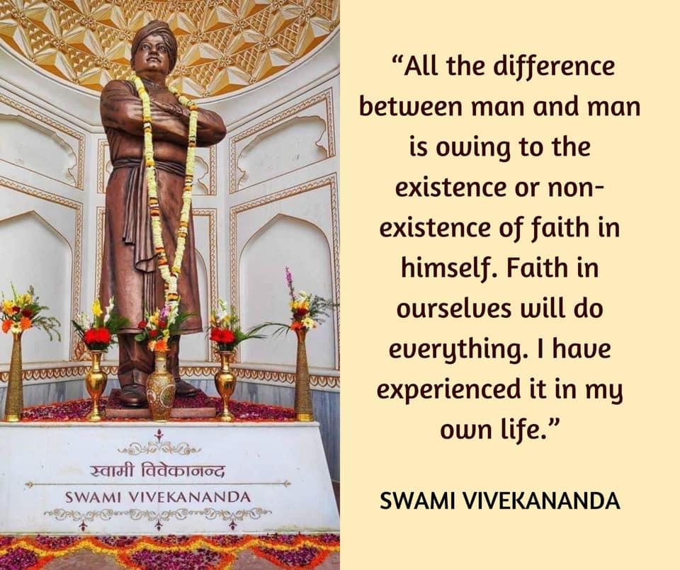 Swami Vivekananda on Faith