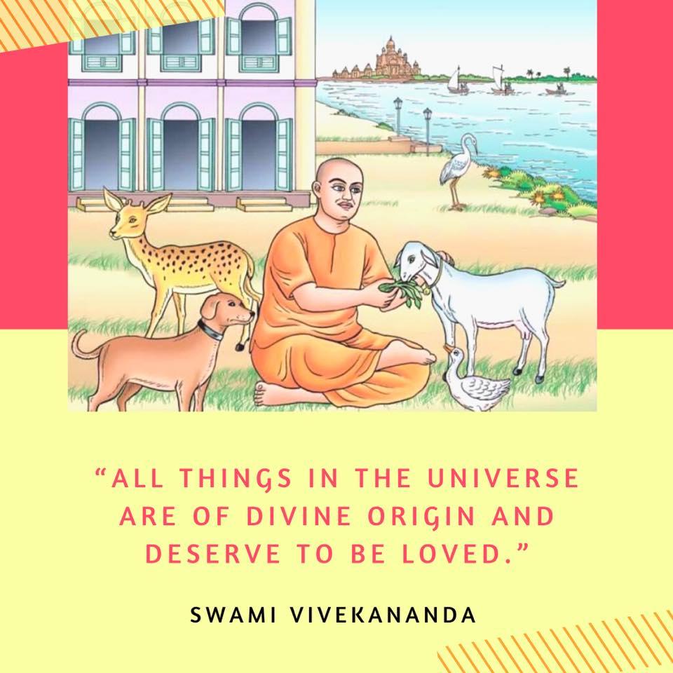 Swami Vivekananda's Quotes On Animal Rights