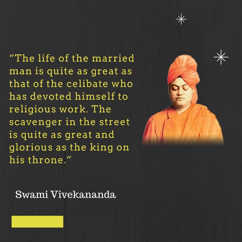 Swami Vivekananda's Quotes On Marriage