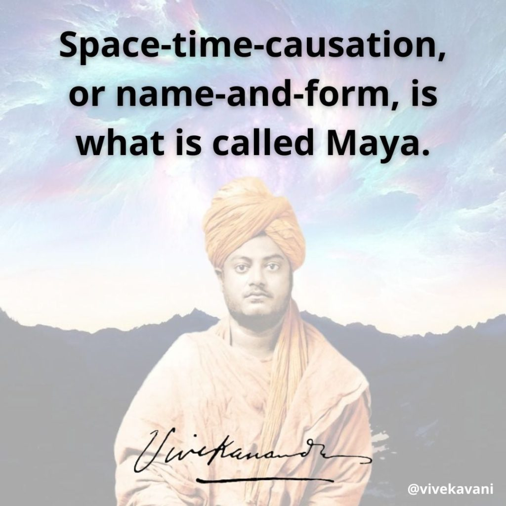 Swami Vivekananda's Quotes On Maya