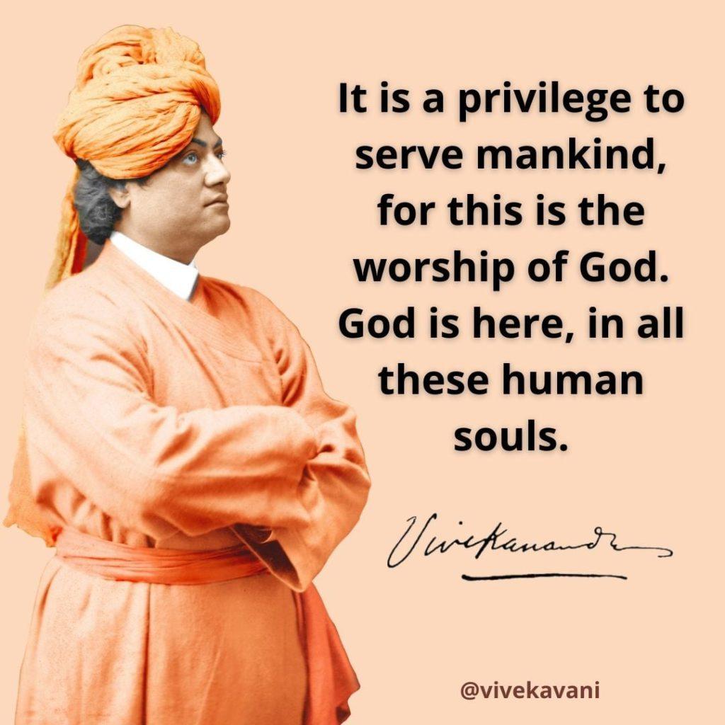 Swami Vivekananda's Quotes On Service