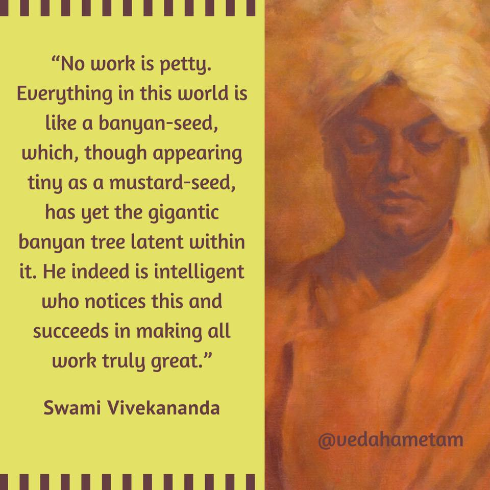 Swami Vivekananda on Work