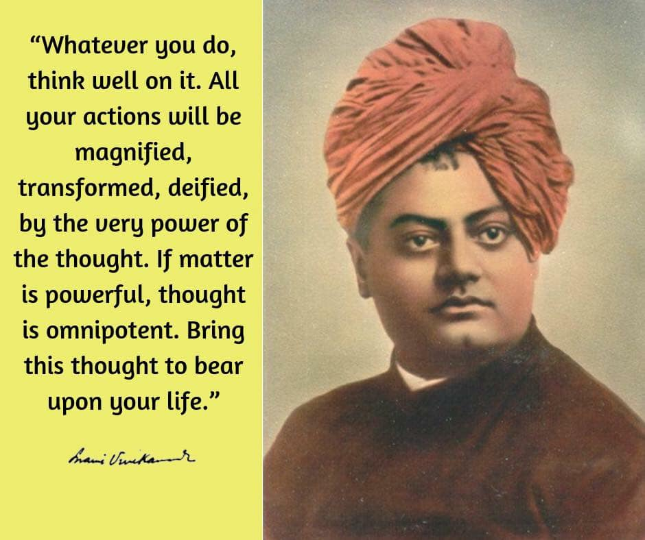 Swami Vivekananda's Quotes On Thought