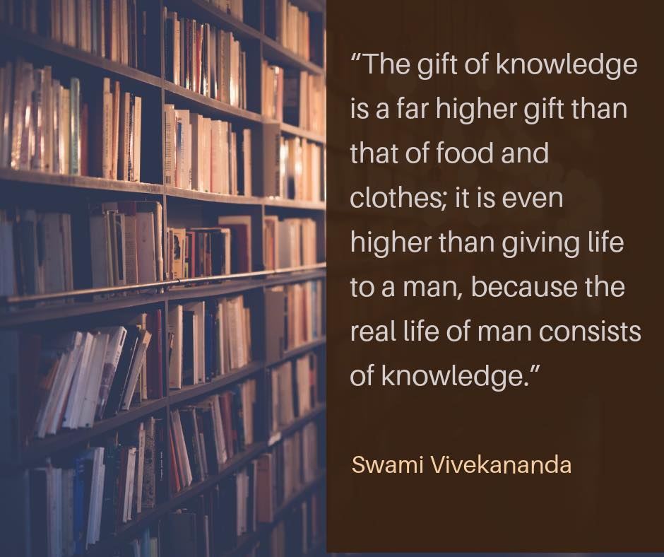 Swami Vivekananda on Knowledge