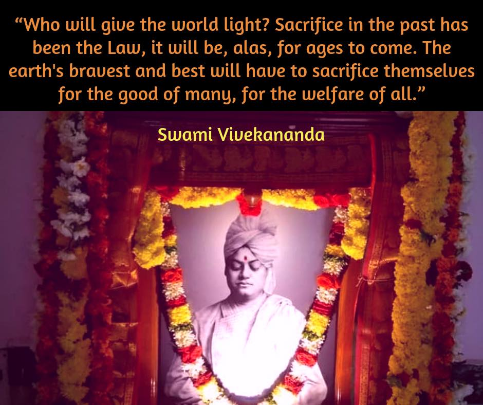 Swami Vivekananda On Sacrifice