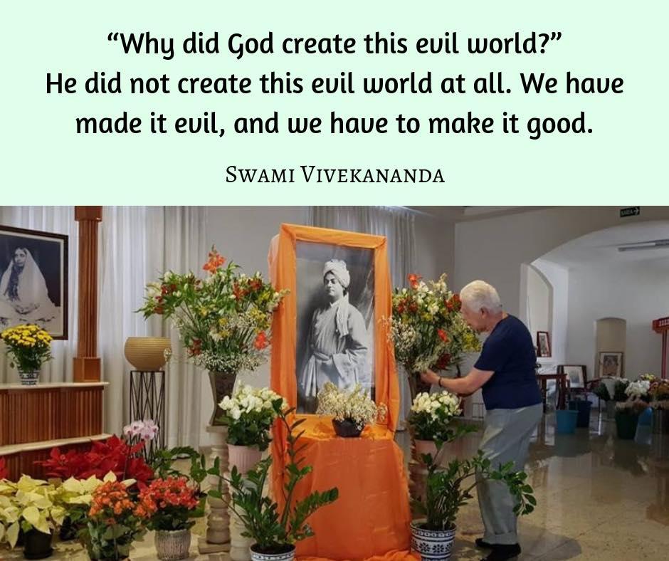 Swami Vivekananda's Quotes On Evil