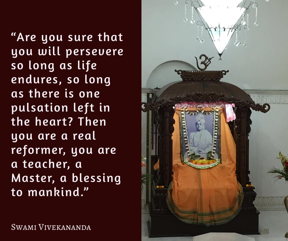 Swami Vivekananda on Perseverance
