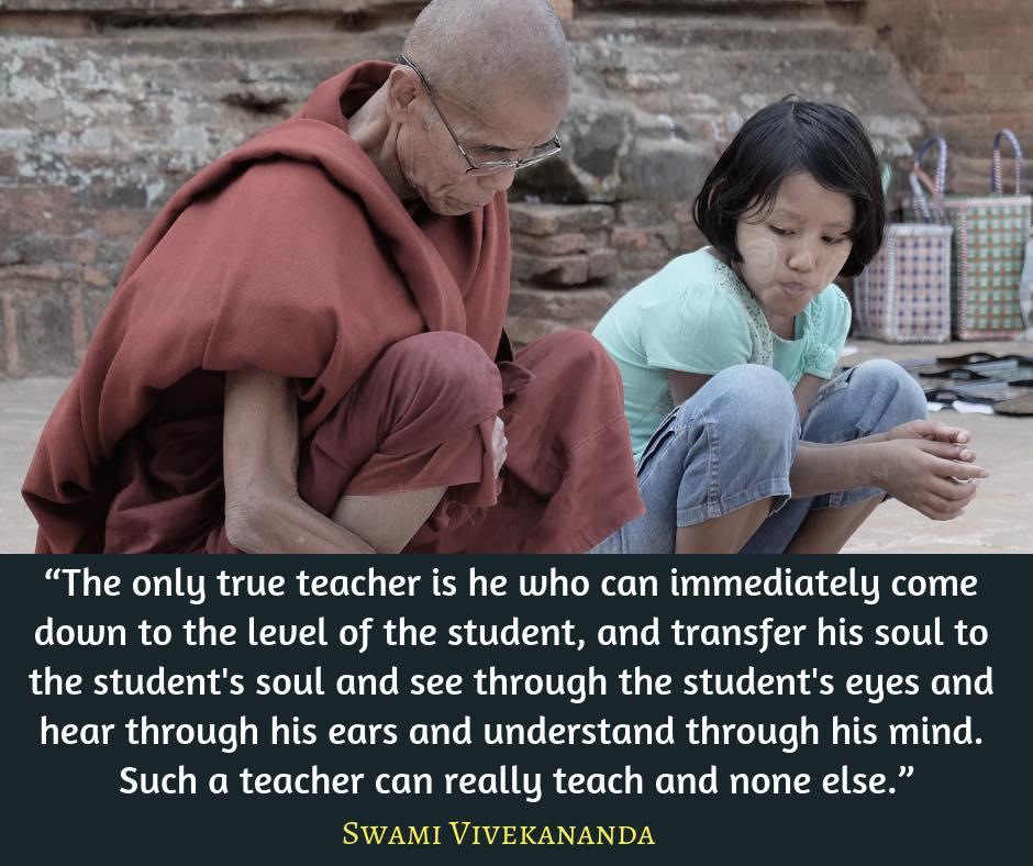Swami Vivekananda Quotes on Real Teacher