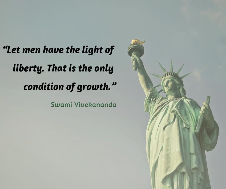 Swami Vivekananda on Growth