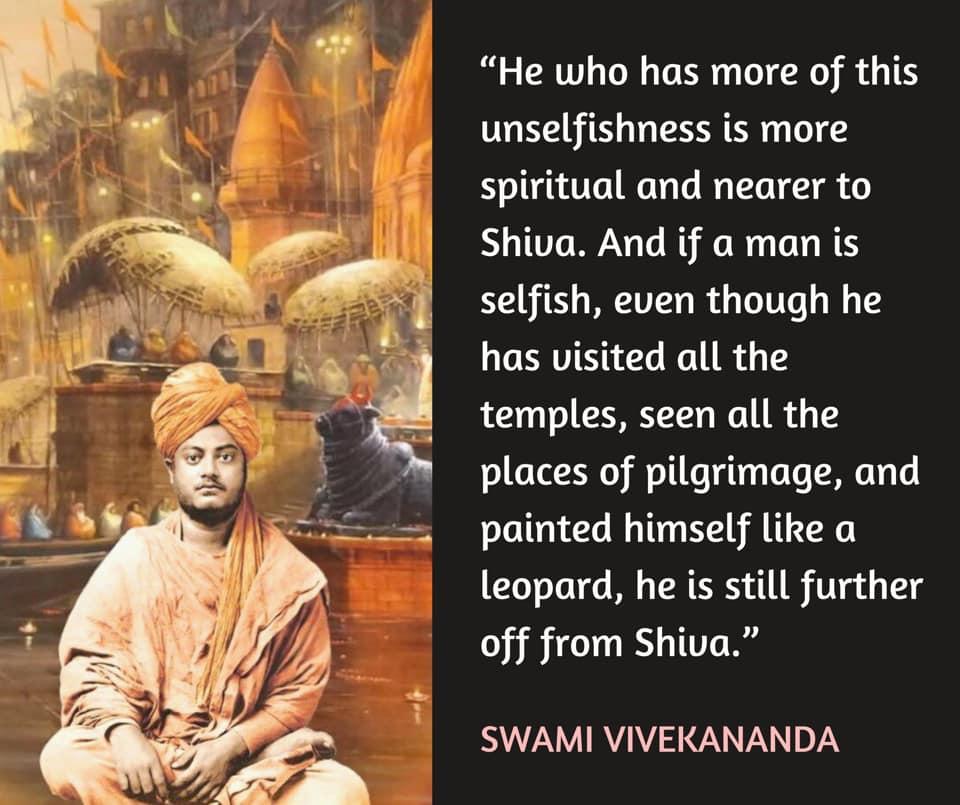 Swami Vivekananda's Quotes On Unselfishness