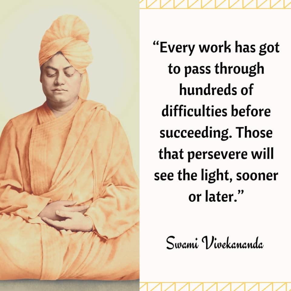 Inspiring And Motivational Quotes Of Swami Vivekananda