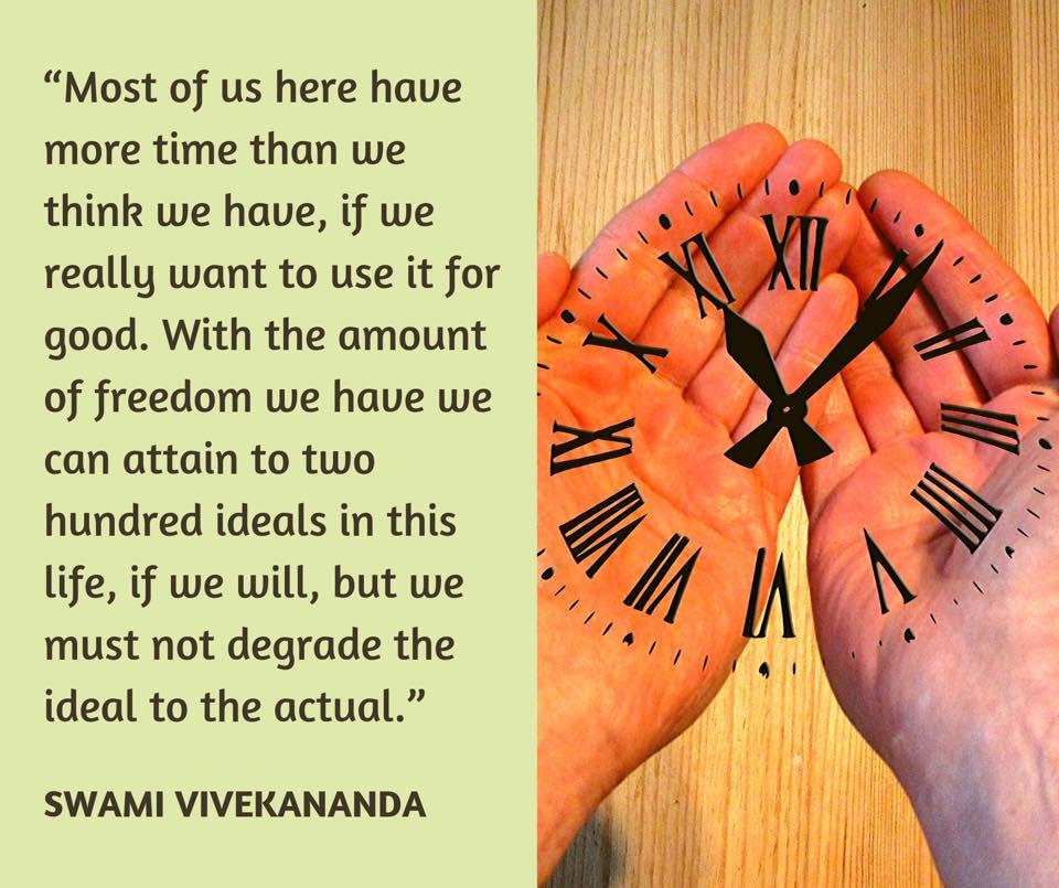 Swami Vivekananda's Quotes On Time