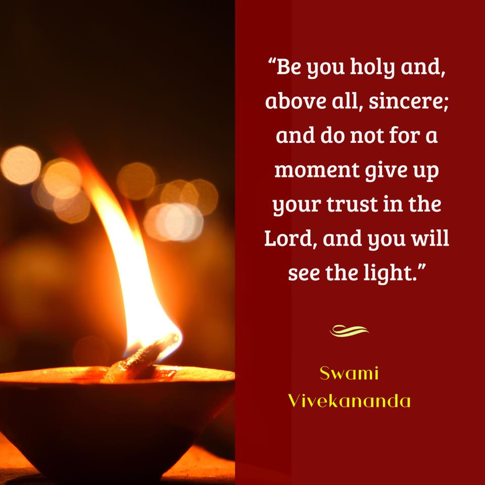 Swami Vivekananda's Quotes On Sincerity