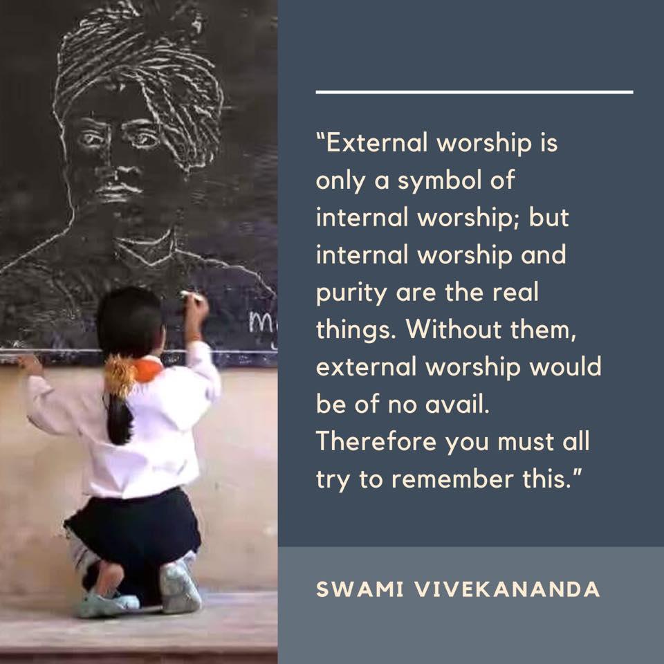 Swami Vivekananda on Worship