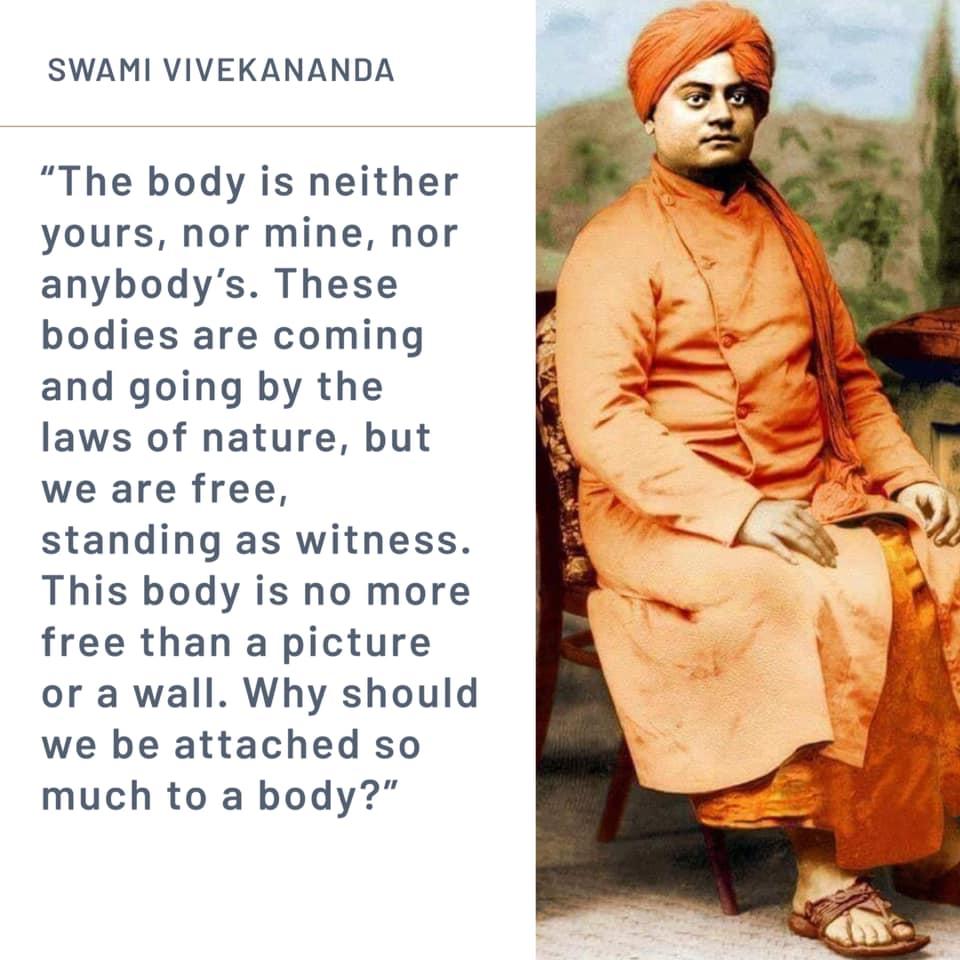 Swami Vivekananda's Quotes On Body