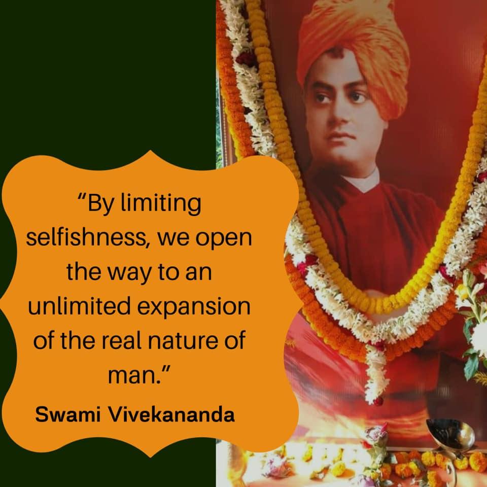 Swami Vivekananda's Quotes On Selfishness