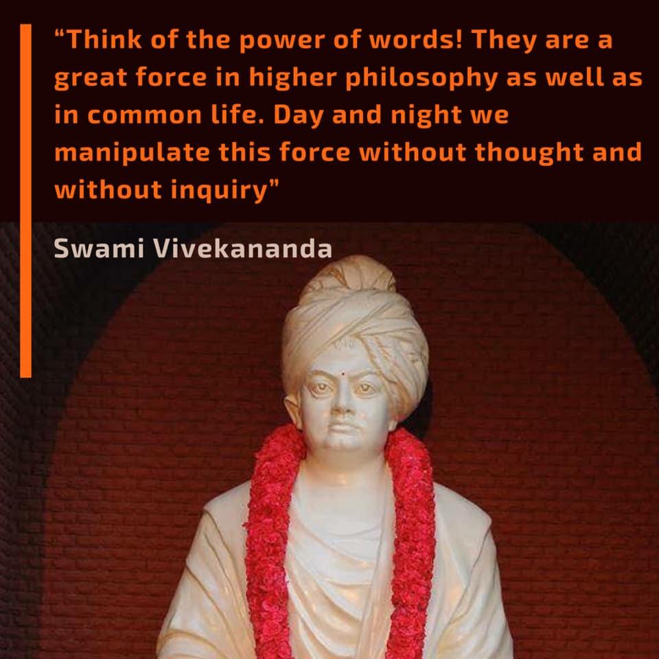 Swami Vivekananda's Quotes On Words