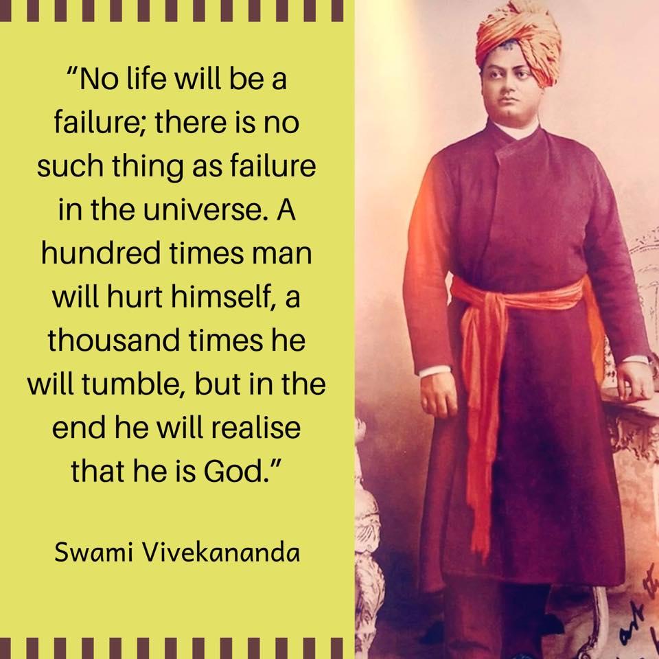 Swami Vivekananda's Quotes On Failure