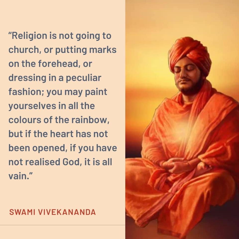 swami vivekananda quotes on religion
