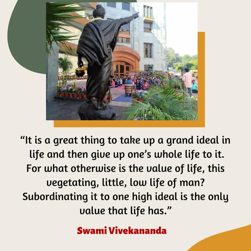 Swami Vivekananda's Quotes On Ideal