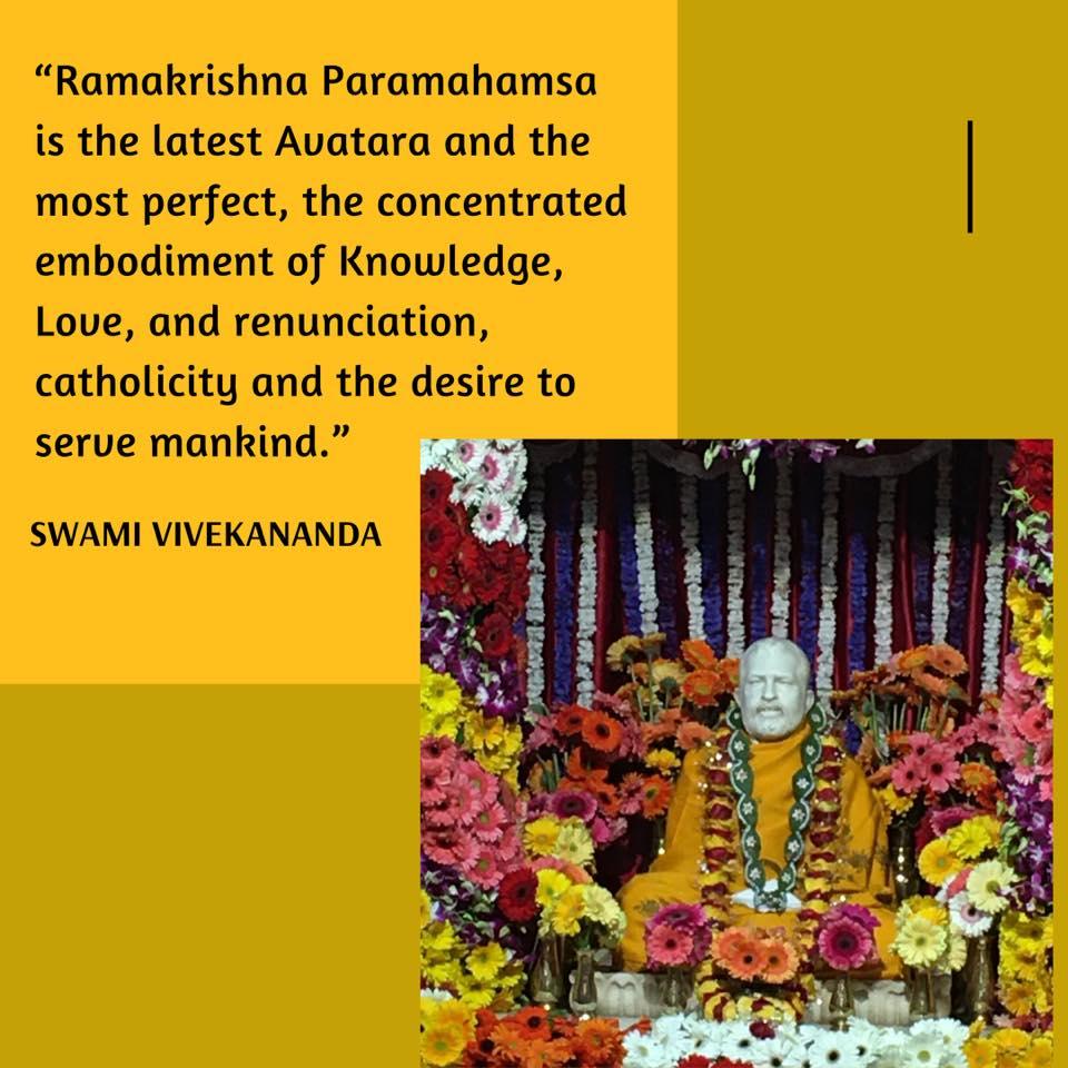 Swami Vivekananda On Ramakrishna