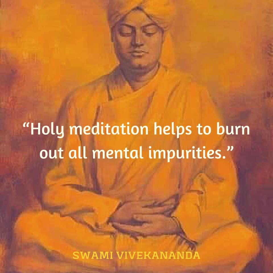 Swami Vivekananda on Meditation