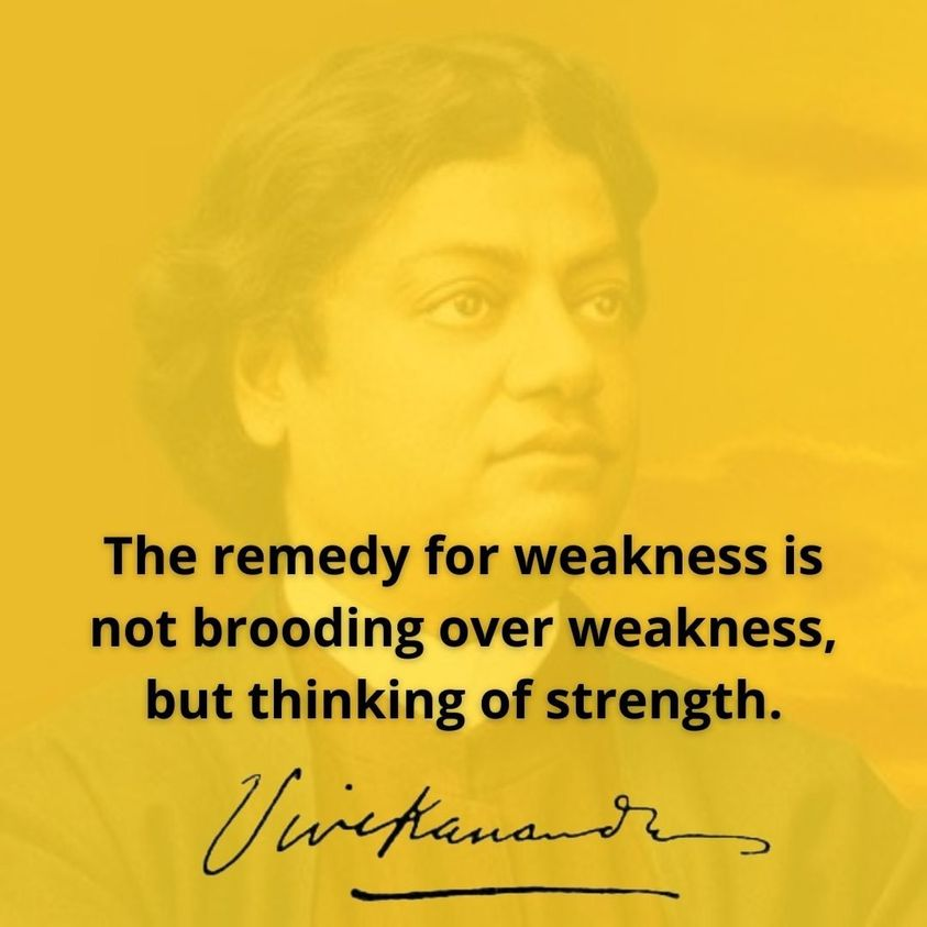 swami vivekananda on strength
