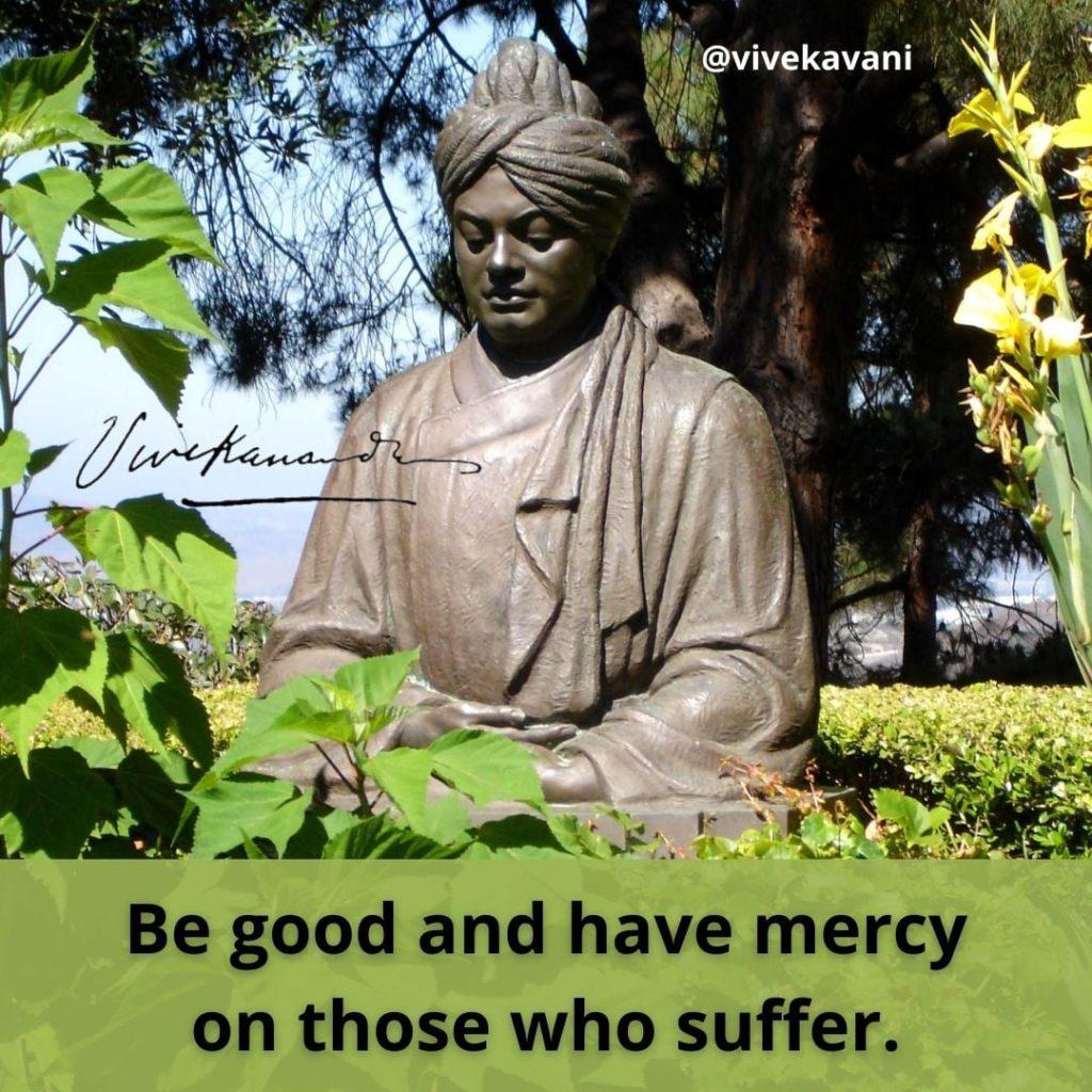 Swami Vivekananda's Quotes On Mercy