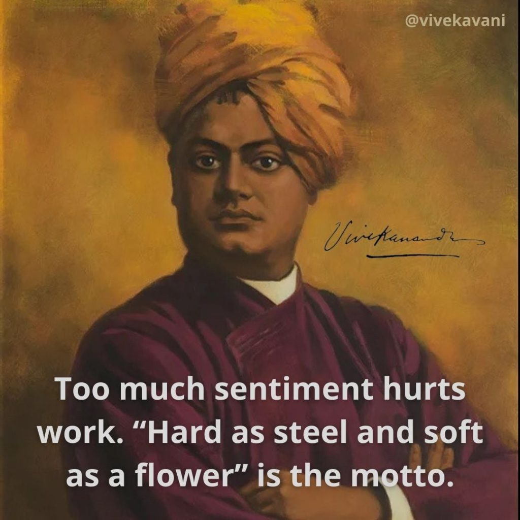 Swami Vivekananda's Quotes On Sentiment